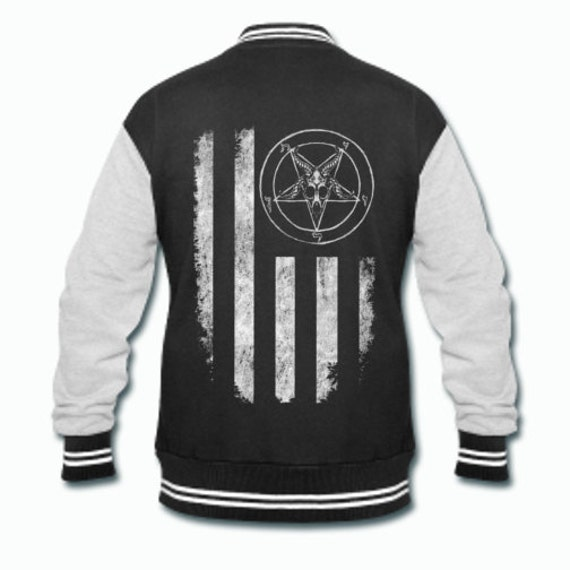 Baphomet Nation Varsity jacket