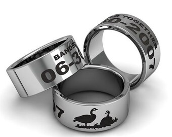 Duck band ring