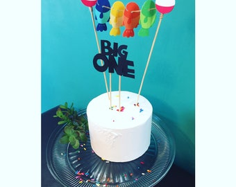 "O""Fish""ally One/The Big One Smash Cake Toppers"