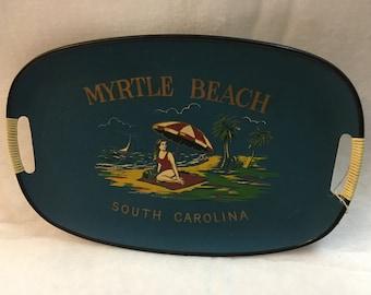 Mid-CenturyModern Myrtle Beach Souvenir Tray