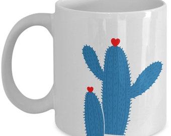 Cactus Hug Mug - Fun Gift