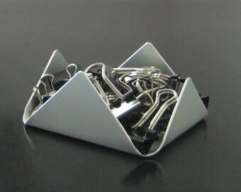 Mini Peak Paper Clip Holder