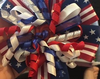 Holiday bow 4th of July