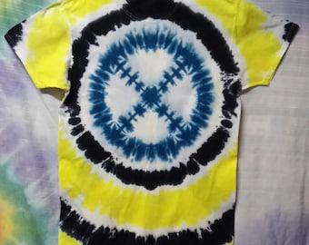 New Tie Dye Lg X-Men Super Hero T-shirt