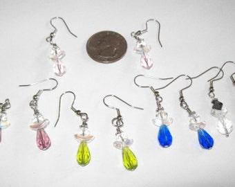 Handmade Custom Angel Earrings