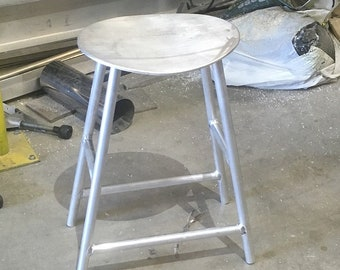 The George - 24 inch aluminum stool