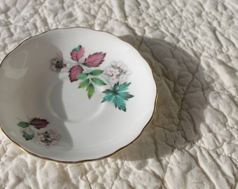 Vintage Saucer- Royal Vale Bone China Made in England for use in Mosaic, home decor, or collectors