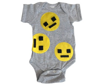 We Are Watching You! - Gray Infant Bodysuit – Boys or Girls - Geek Gift