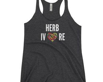Herbivore, Herbivore Shirt, Vegan Vibes, Vegan Shirt, Veganism Shirt, Friends Not Food, Gifts for Vegans, Plant Based, Gym Tank, Vegan Tank