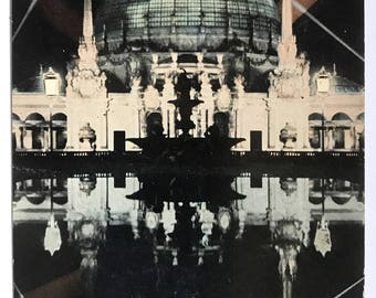 Palace of Horticulture by Night - Panama-Pacific International Exposition - San Francisco 1915 - Cardinell Vincent Co. Postcard - No. 2004