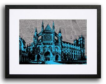 Westminster Abbey, London - Cyan