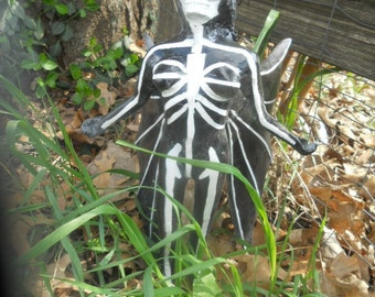 angel of death dark fantasy garden sculpture halloween decoration low brow sculpture death figurine