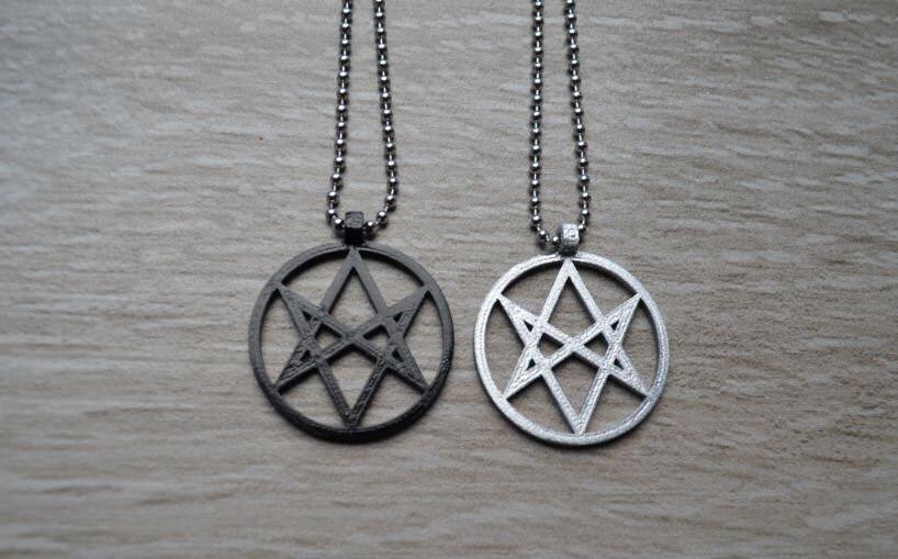 Unicursal hexagram symbol symbol necklace pendant pentacle unicursal hexagram symbol symbol necklace pendant pentacle gallery photo gallery photo mozeypictures Images