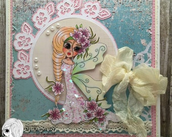 INSTANT DOWNLOAD Digital Digi Stamps Big Eye Big Head Dolls NEW Besties Img688 My Besties By Sherri Baldy