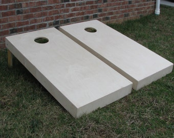 Non Painted Cornhole Board