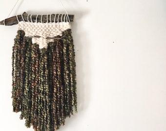 Wall hanging. Handmade with love. Hand woven. Textile art. Bohemian art