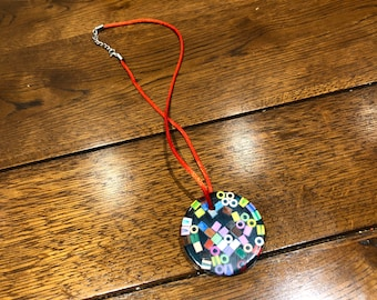 Charlies mixed colour bead Necklace