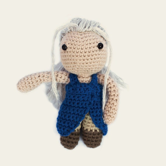 Daenerys - Game of Thrones. Amigurumi Pattern PDF.