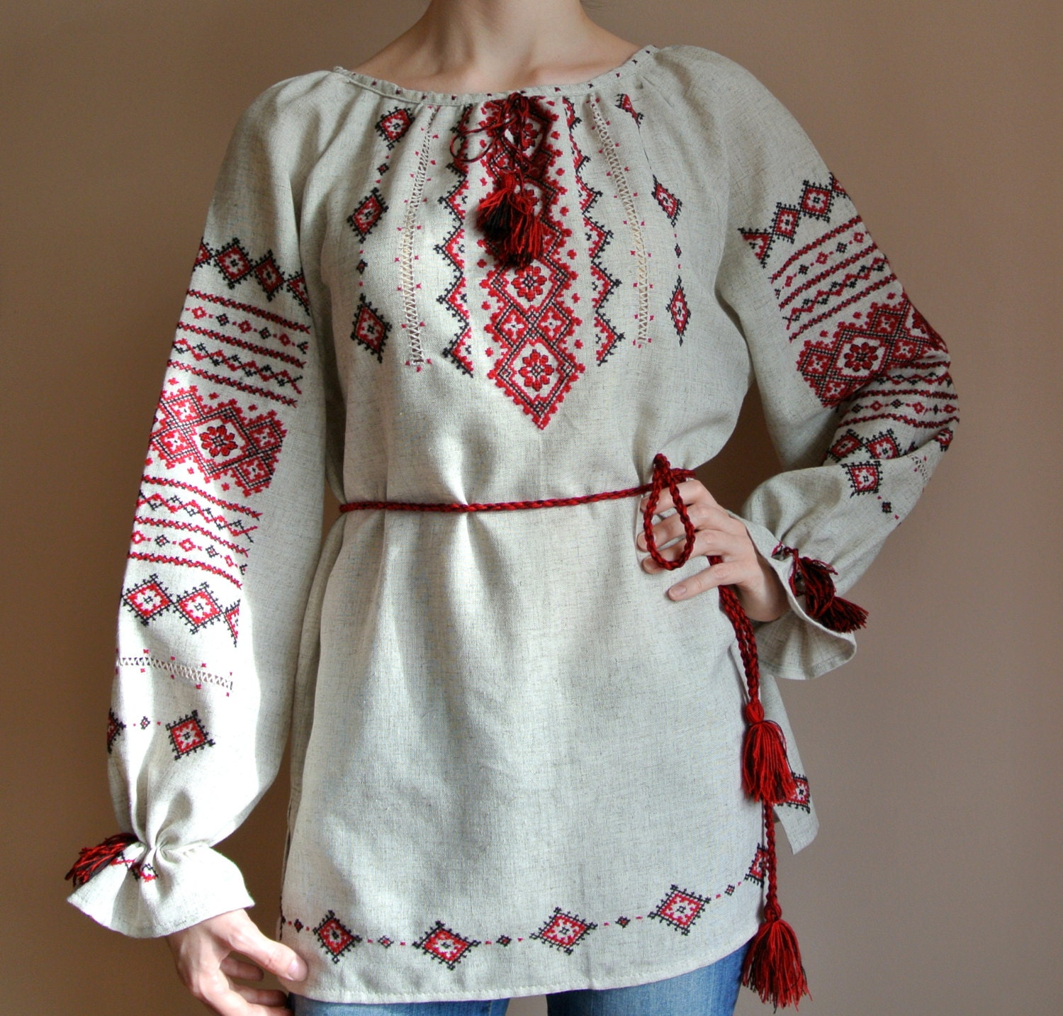 Ukrainian Embroidered Blouses