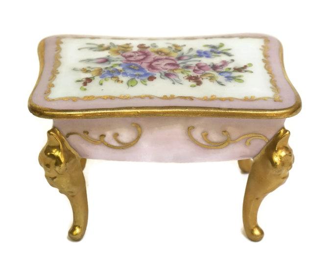 Limoges Porcelain Ring Dish.