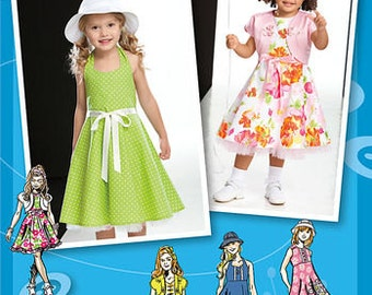 Simplicity Pattern 2237 Child's & Toddlers' Dresses,  Project Runway Collection