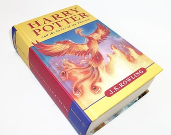 Hollow Book Safe Harry Potter Order of Phoenix, Secret Stash Box, IPhone Case, Geekery Home Security Safe Box