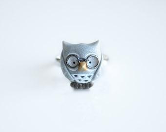 Henry the owl ring