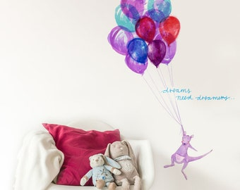 Dreams Need Dreamers Removable Wall Sticker