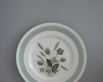 Woods Ware Clovelly Side / Sandwich / Salad / Dessert / Cake Plate 1950's Retro Vintage Mid Century