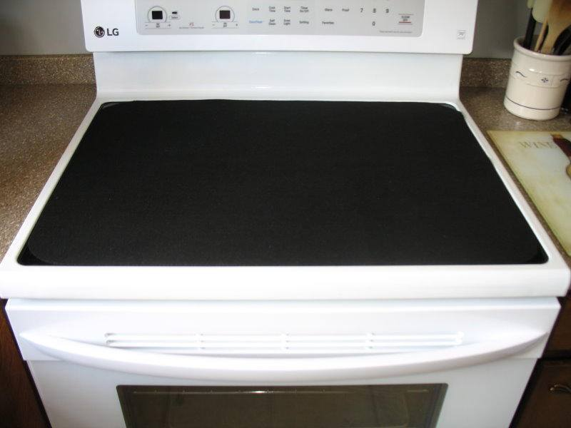Cook Top Premium Dense Felt Glass Stove Mat Protector