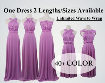 Purple grape bridesmaid dress long infinity dress short convertible bridesmaid dress Purple infinity dress long maxi dress wedding dress