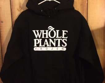 Terpshop Whole Plants Hoodie (Black/White)
