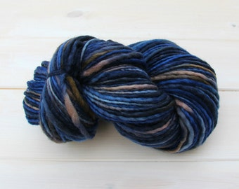 Manos del Uruguay - Wool Clasica - Chunky Knitting wool - Colour: Neptune #7073 - 100g Pure Wool - Chunky Weight
