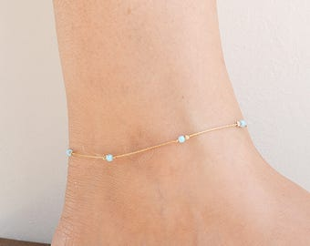 emeralds chains buy jewellery womens rubies pair with leg anklet indian in and karat anklets jewelry gold