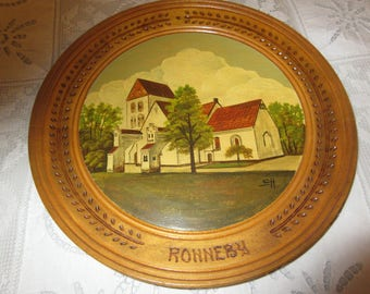 SWEDEN RONNEBY PLATE Wall Hanging by Swan Mattson