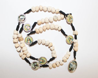 Rosary Our Lady The Seven Sorrows Stone Beads Mater Dolorosa Servite Rosary Apparition Hill Stone