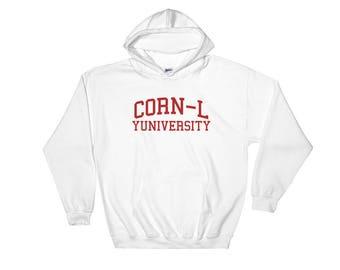 Corn-L Hooded Sweatshirt