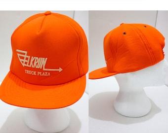 SALE Neon Orange Hunter Deer  Hat