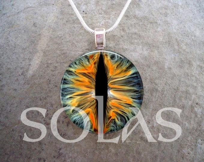Dragon Eye Jewelry - Glass Pendant Necklace - Dragon Eye 7