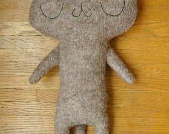 Mega Meu! Large Cat Plush - Fuzzy Brown