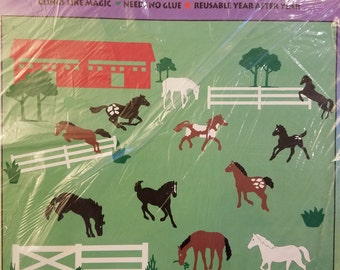 Stik-ees 1994 720 Horsin' Around decal, Great for Kids