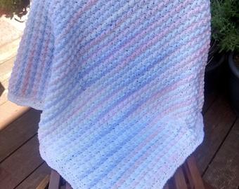 Baby Blanket - Hand Crocheted