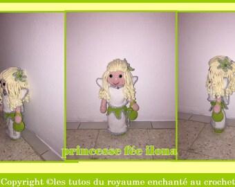 pattern tutorials Princess fairy ilona