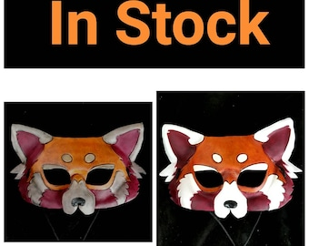 Leather Red Panda Mask