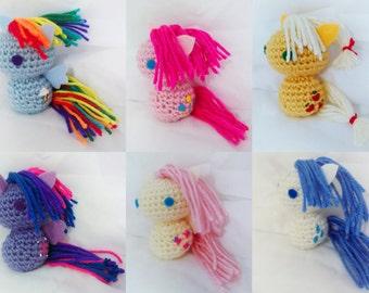 Crochet My Little Pony Plushies
