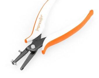 Impress Art Hole Punch Pliers - Qty 1 - SC6516,  jump ring hole punch, metal punch, metal pliers, Bopper