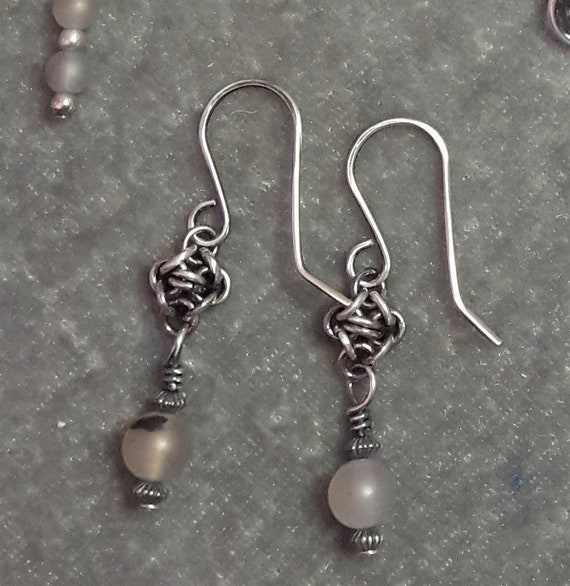 Thru the Fog Earrings