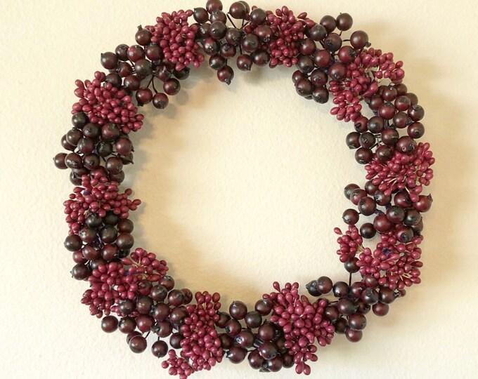 Purple Berry Wreath