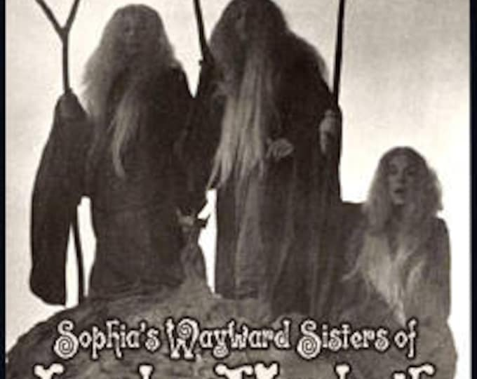 Sophia's Wayward Sisters of Lady MacBeth - Private Edition - Handcrafted Perfume - Love Potion Magickal Perfumerie