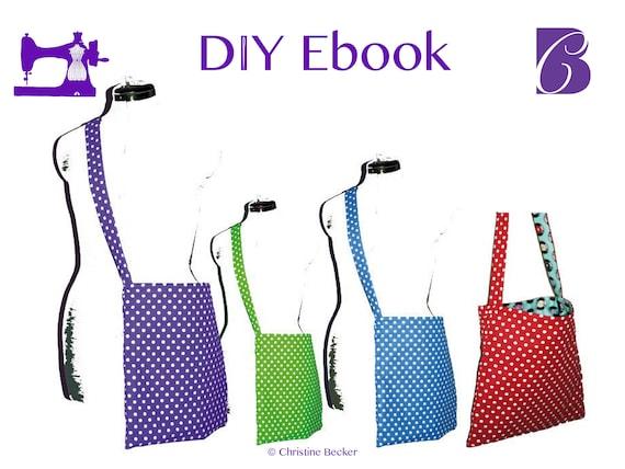 PDF Ebook Tutorial and Pattern Reversible Bag Anne